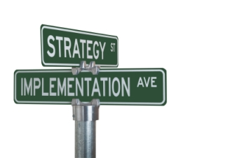 Strategy-Implementation-Signpost